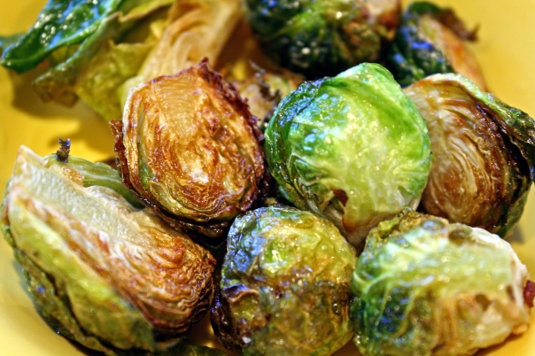 Deep Fried Brussel Sprouts